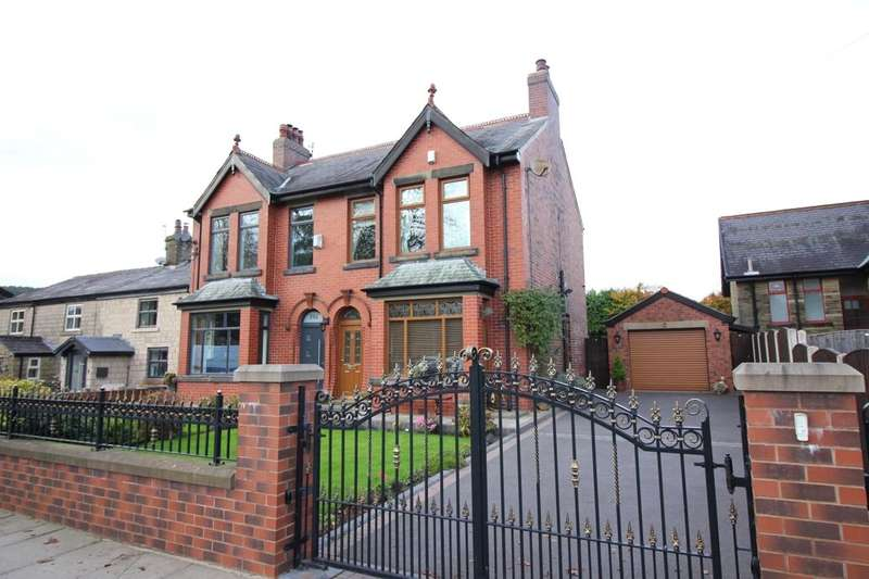 3 Bedrooms Semi Detached House for sale in Bolton Road, Hawkshaw, Bury, BL8