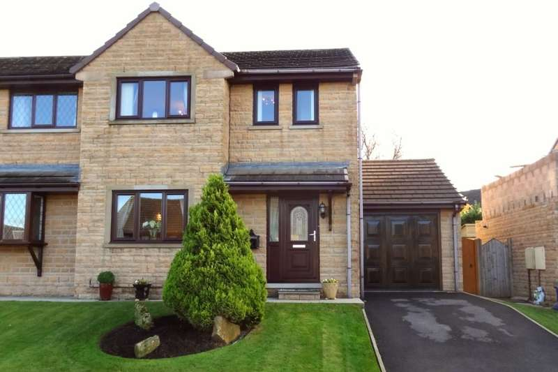 3 Bedrooms Semi Detached House for sale in Moorland View, Nelson, BB9