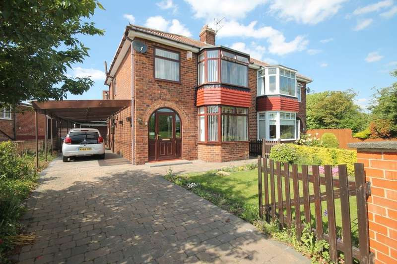 3 Bedrooms Semi Detached House for sale in Green Lane, Thornaby, Stockton-On-Tees, TS17