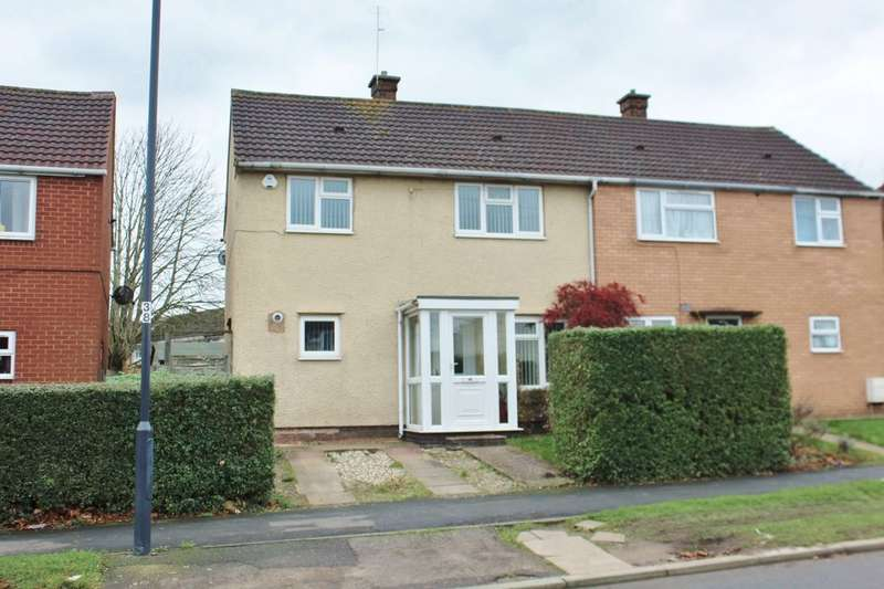 3 Bedrooms Semi Detached House for sale in Buckley Road, Leamington Spa, CV32