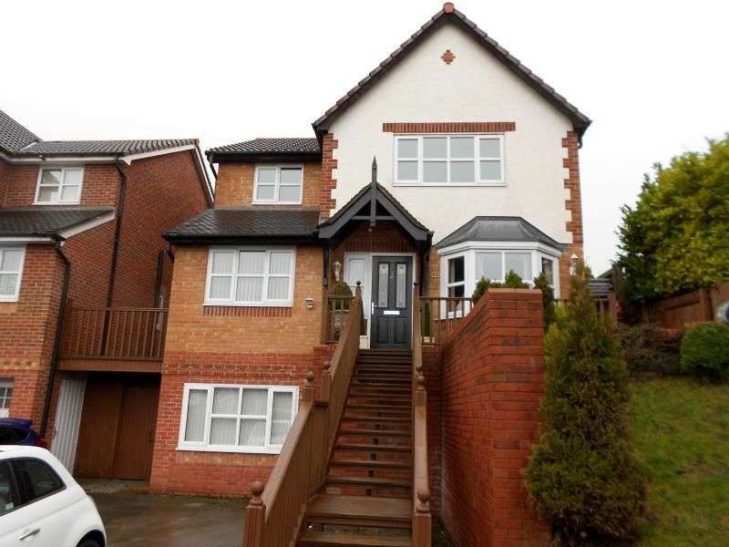 4 Bedrooms Detached House for sale in Tegid Drive, New Broughton, Wrexham, LL11