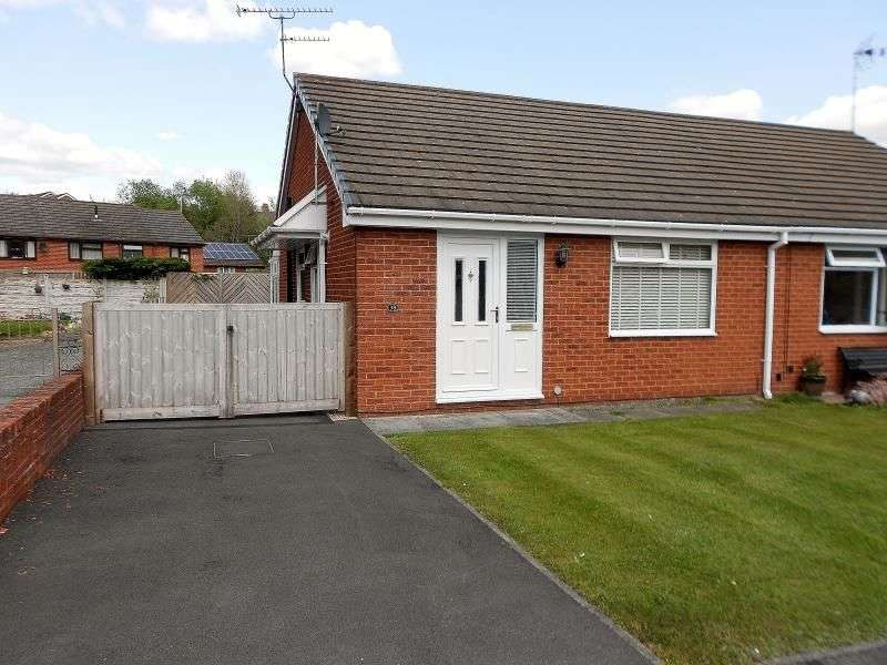 2 Bedrooms Semi Detached Bungalow for sale in Pont Yr Afon, Penycae, Wrexham, LL14