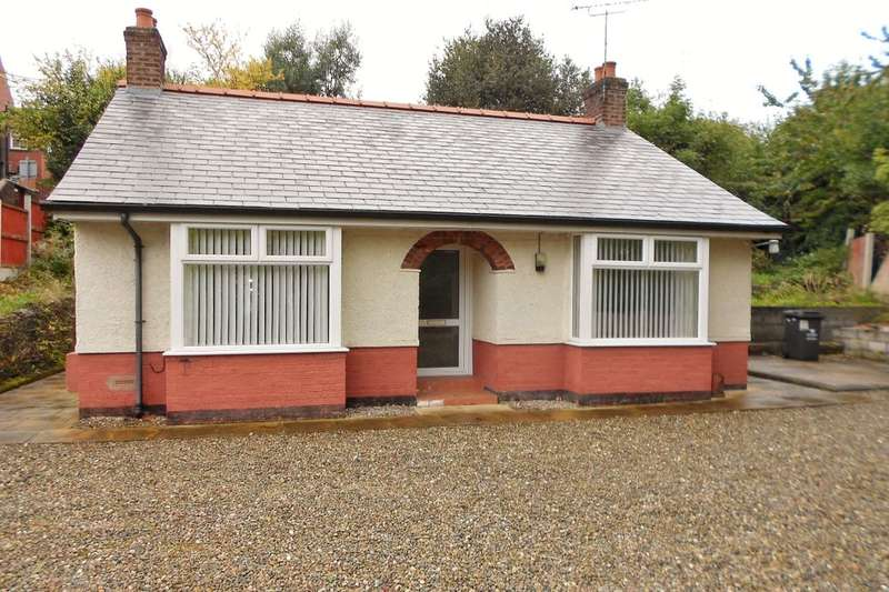 2 Bedrooms Detached Bungalow for sale in Pleasant Lane, Brymbo, Wrexham, LL11
