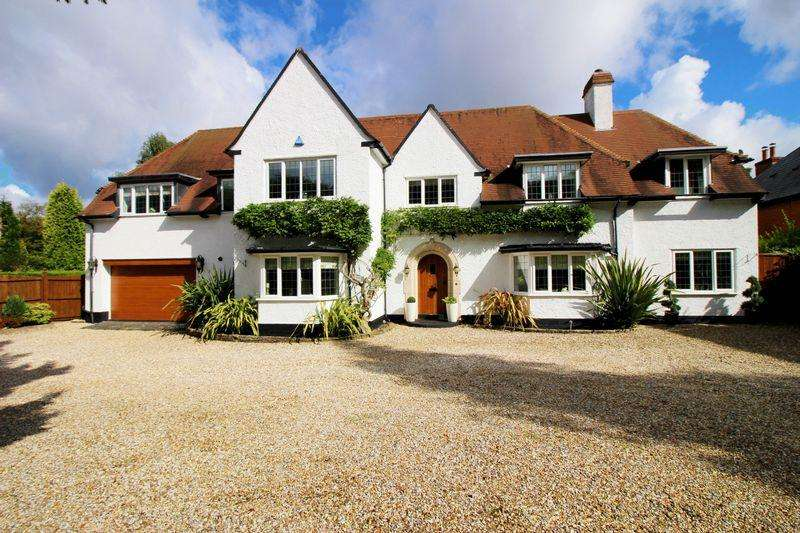 5 Bedrooms Detached House for sale in 10 Streetly Lane, Sutton Coldfield, B74 4TT