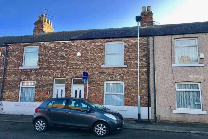 2 Bedrooms Terraced House for sale in Myrtle Road, Eaglescliffe, Stockton-On-Tees, TS16