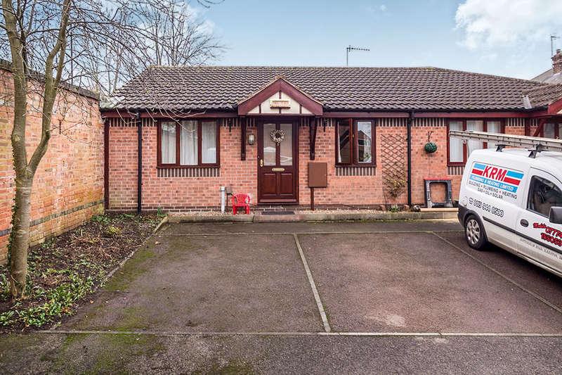 2 Bedrooms Semi Detached Bungalow for sale in Black Swan Close, Woodthorpe, Nottingham, NG5