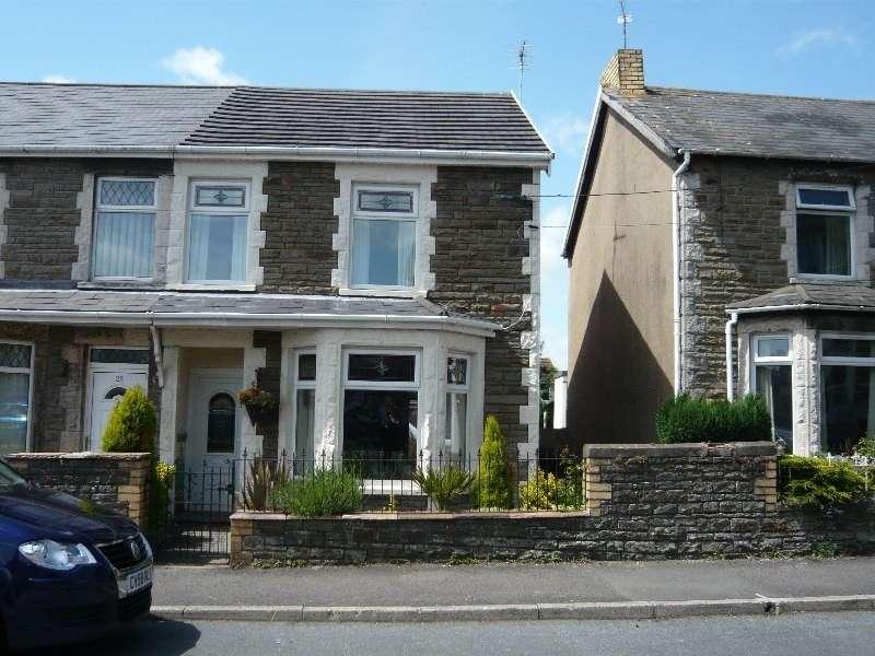 3 Bedrooms Semi Detached House for sale in Wimborne Road, Pencoed, Bridgend. CF35 6SG