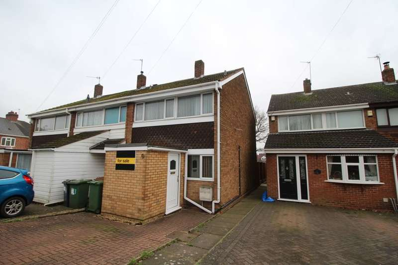 3 Bedrooms Semi Detached House for sale in The Hayes, Willenhall, WV12