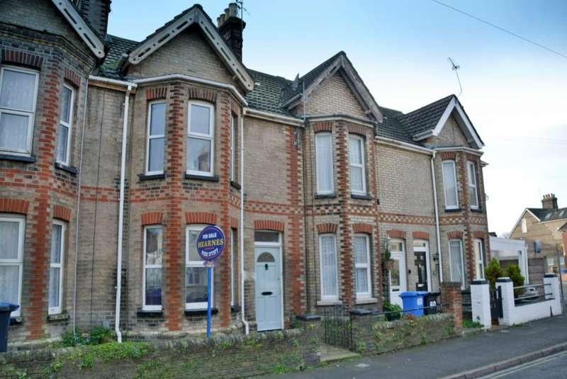 3 Bedrooms Terraced House for sale in Emerson Road, Poole, Dorset, BH15 1QT