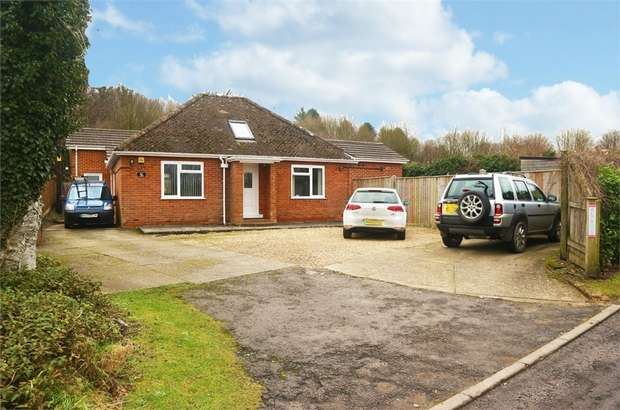 4 Bedrooms Detached Bungalow for sale in Village Street, Thruxton, Andover, Hampshire
