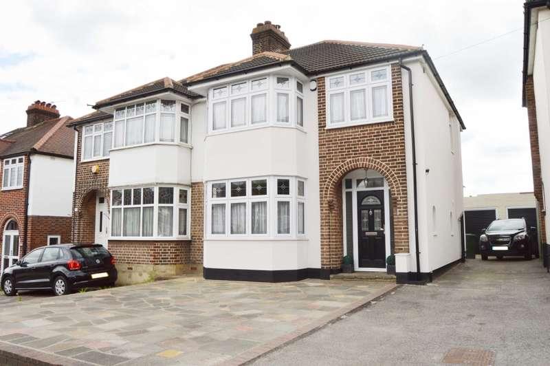 3 Bedrooms Semi Detached House for sale in Squirrels Heath Road, Harold Wood