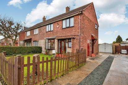 3 Bedrooms Semi Detached House for sale in Forster Avenue, Sherburn, Durham, County Durham, DH6