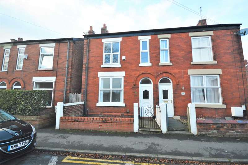 2 Bedrooms Semi Detached House for sale in Chapel Street, Hazel Grove