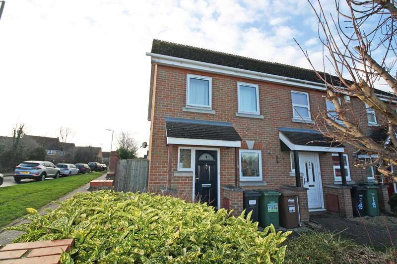 2 Bedrooms End Of Terrace House for sale in Swarbourne Close, Didcot