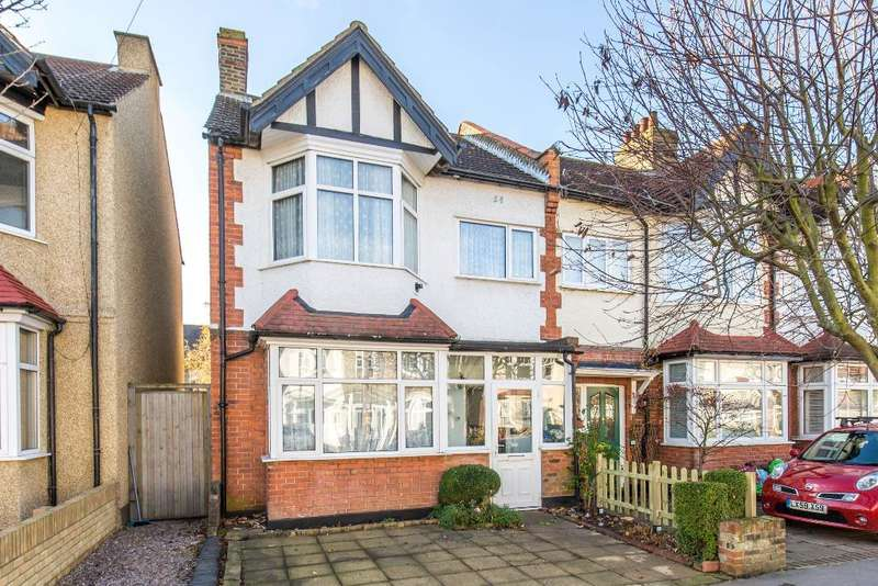 3 Bedrooms End Of Terrace House for sale in Parkview Road, Addiscombe, Croydon, CR0 7DE