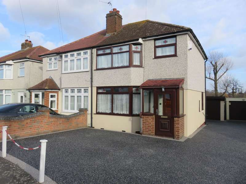 3 Bedrooms Semi Detached House for sale in Merlin Road, Welling, Kent, DA16 2JS