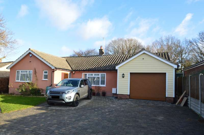 3 Bedrooms Detached Bungalow for sale in Hillside, Chedgrave