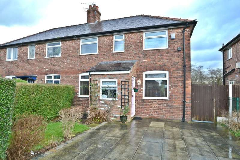 3 Bedrooms Semi Detached House for sale in Chestnut Avenue, Cheadle