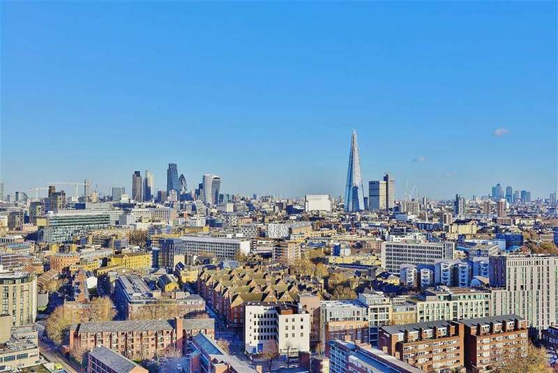 2 Bedrooms Apartment Flat for sale in The Perspective Building, South Bank, London