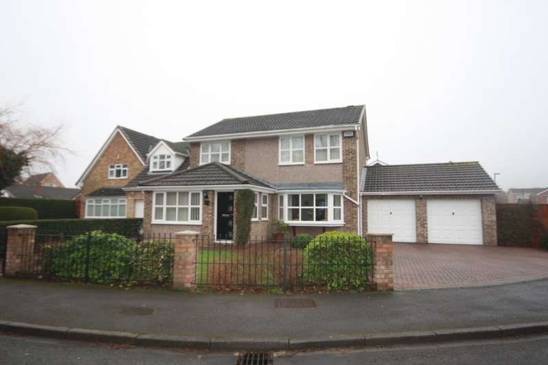 4 Bedrooms Detached House for sale in Hawthorn Drive, Guisborough, TS14