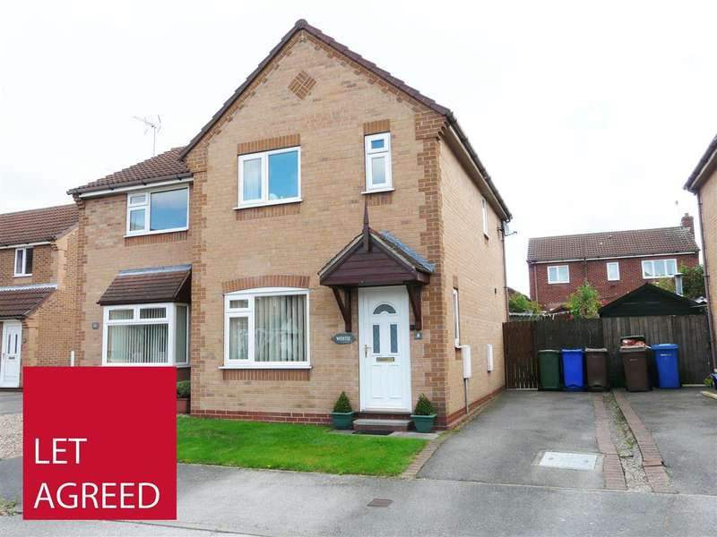 3 Bedrooms Semi Detached House for rent in Browning Road, Pocklington