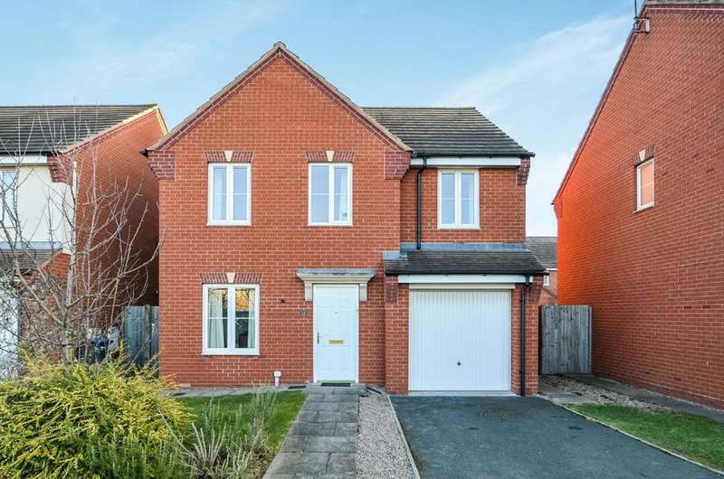 4 Bedrooms Detached House for sale in Projects Drive, Caldecott Manor, Rugby