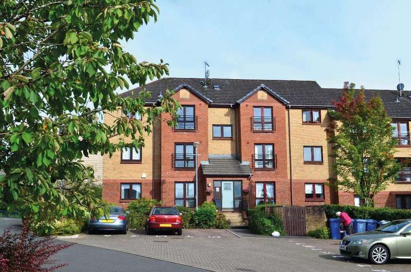 2 Bedrooms Flat for sale in Knightswood Court, Flat 6, Anniesland, Glasgow, G13 2XN