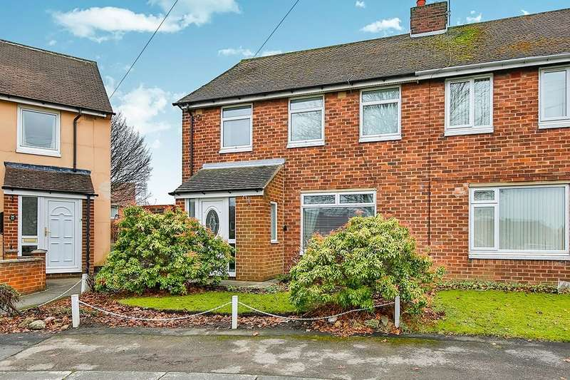 3 Bedrooms Semi Detached House for sale in Newton Drive, Framwellgate Moor, Durham, DH1