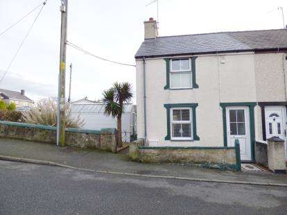 2 Bedrooms End Of Terrace House for sale in Field Street, Valley, Holyhead, Anglesey, LL65