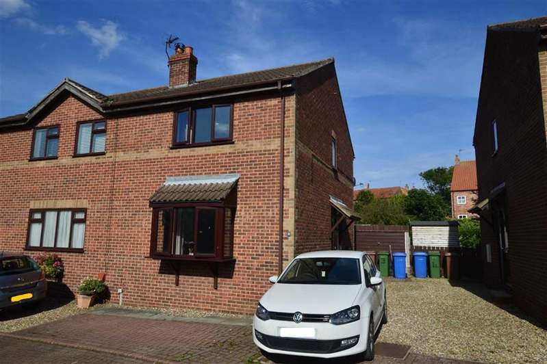 2 Bedrooms Semi Detached House for sale in Castle Park, Aldbrough, East Yorkshire