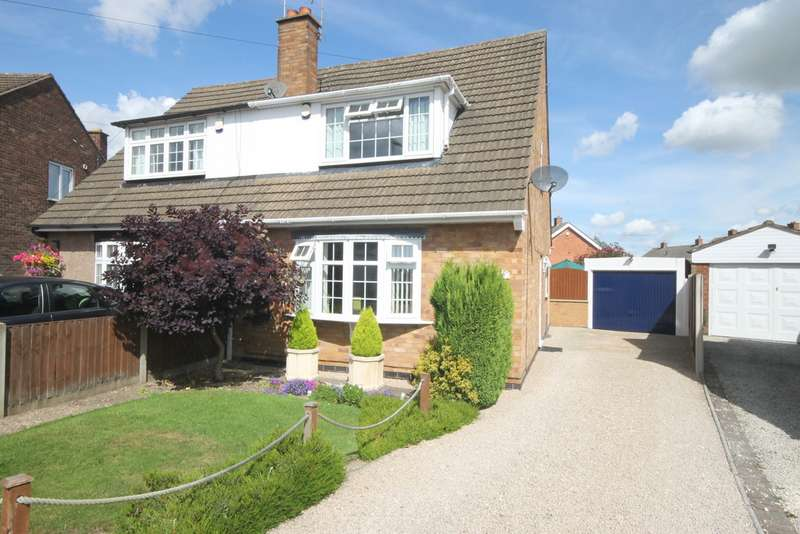 3 Bedrooms Semi Detached House for sale in Mayfield Way, Barwell LE9