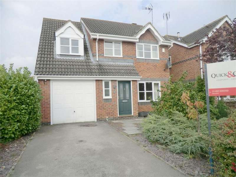 4 Bedrooms Detached House for rent in Cavendish Park, Brough, East Riding of Yorkshire