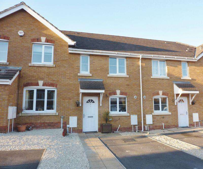 2 Bedrooms House for sale in Cwrt Pant Yr Awel Lewistown Bridgend CF32 7HW