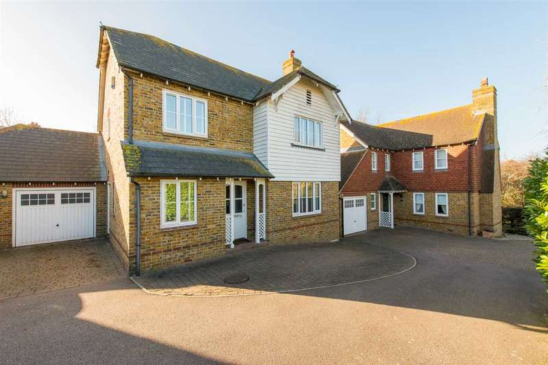 4 Bedrooms Detached House for sale in Mansfield Drive, Iwade, Sittingbourne