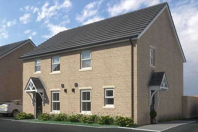 3 Bedrooms Semi Detached House for sale in 'The Beechcroft', Roundhill Gardens, South Lane, Elland