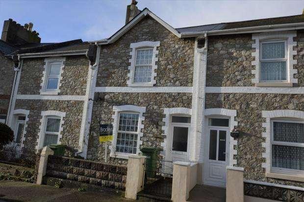 2 Bedrooms Terraced House for sale in Woodville Road, Torquay, Devon