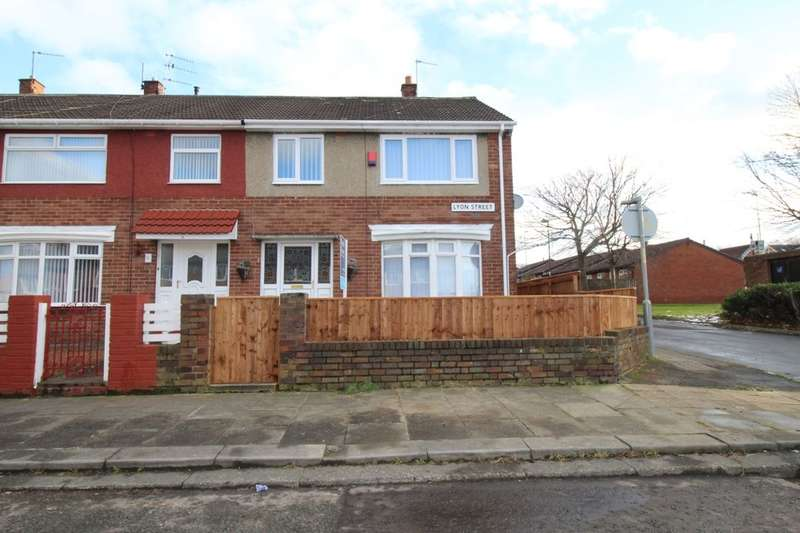 3 Bedrooms Terraced House for sale in Lyon Street, Hebburn, NE31