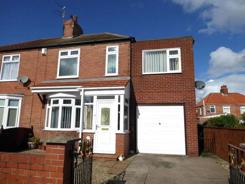 3 Bedrooms Semi Detached House for sale in Stakeford Crescent, Choppington