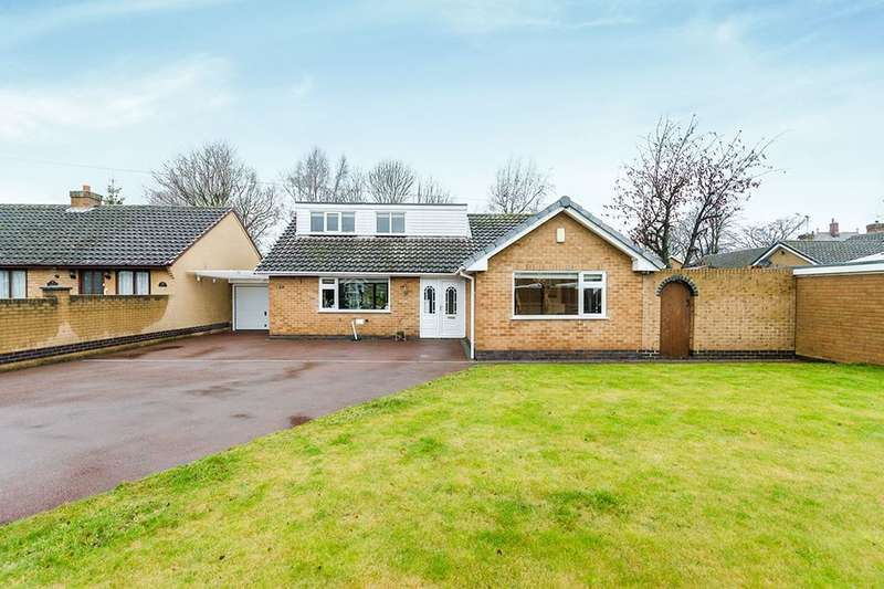 3 Bedrooms Detached Bungalow for sale in Carlton Close, Danesmoor, Chesterfield, S45