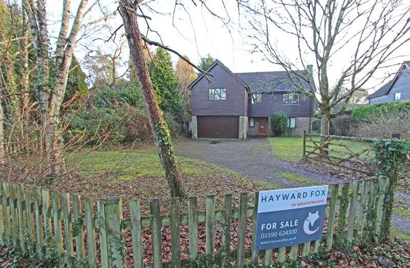 4 Bedrooms Detached House for sale in New Forest Drive, Brockenhurst
