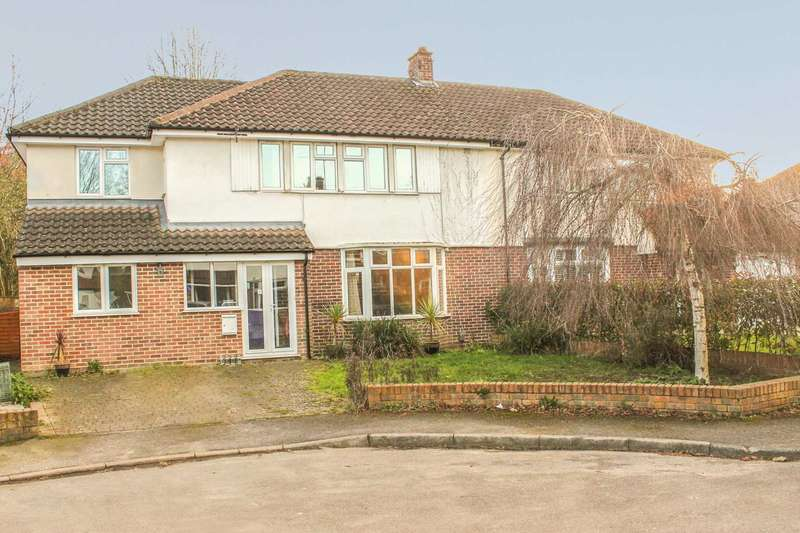 5 Bedrooms Semi Detached House for sale in Macaulay Avenue, Esher