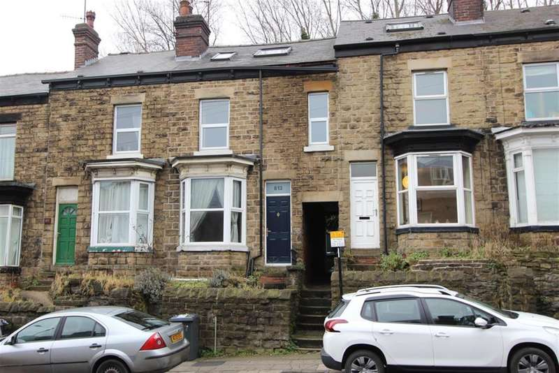 4 Bedrooms Terraced House for sale in Ecclesall Road, Sheffield, S11 8TH