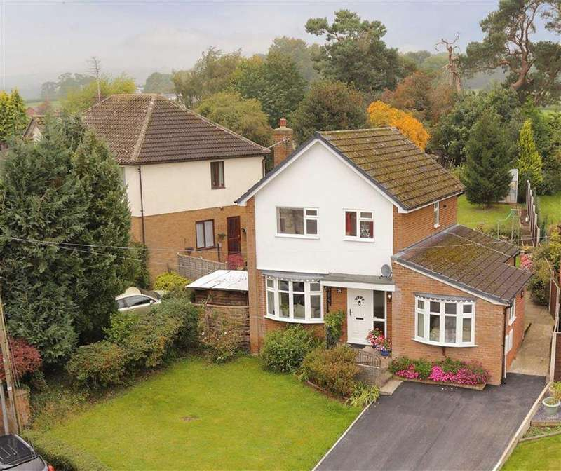 4 Bedrooms Detached House for sale in Croeswylan Lane, Oswestry, SY10