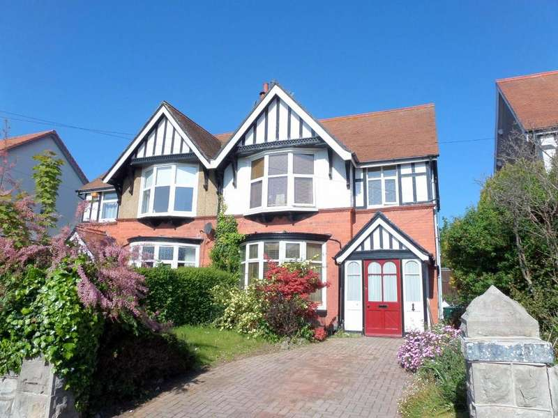 3 Bedrooms Semi Detached House for sale in Trillo Avenue, Rhos On Sea, Colwyn Bay