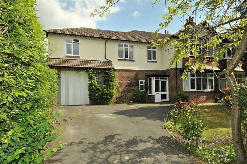 5 Bedrooms Semi Detached House for rent in Riddings Road, Hale