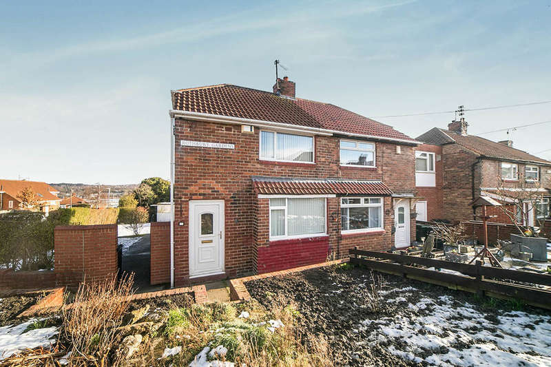 2 Bedrooms Semi Detached House for rent in Rothbury Gardens, Gateshead, NE11