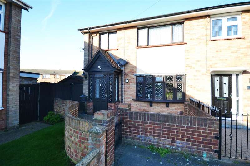 3 Bedrooms End Of Terrace House for sale in Godman Road, Chadwell St.Mary