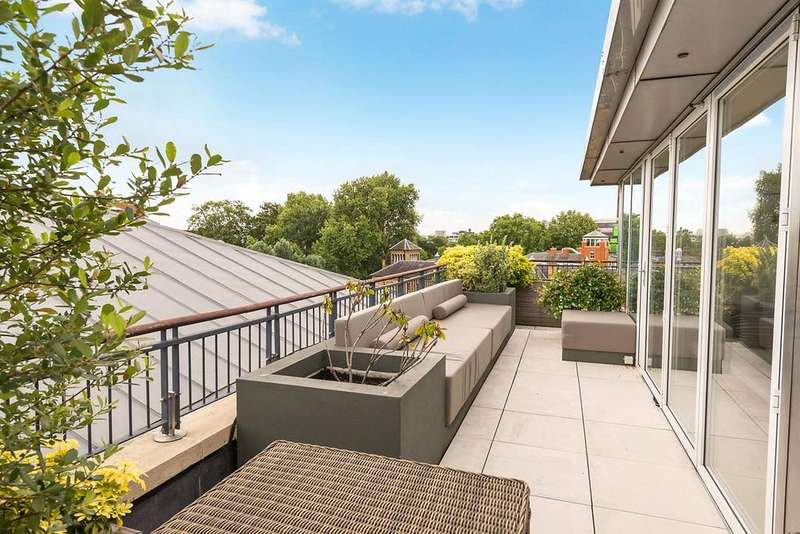 6 Bedrooms Penthouse Flat for sale in Benham House, Coleridge Gardens, London, SW10