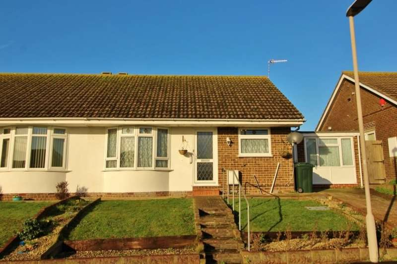 3 Bedrooms Semi Detached Bungalow for sale in Nightingale Close, Eastbourne, BN23