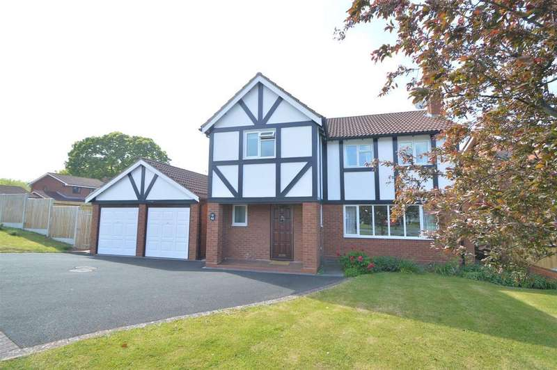 4 Bedrooms Detached House for sale in 41 Torrin Drive, Radbrook, Shrewsbury SY3 6AW